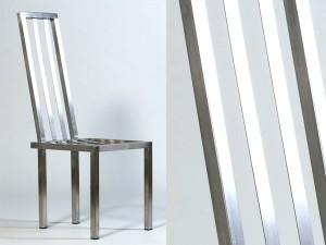 Edelstahl-Stuhl KG 15 - de greiff design