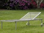 Gartenliege KG 25 mit verstellbarem Kopfteil - de greiff design