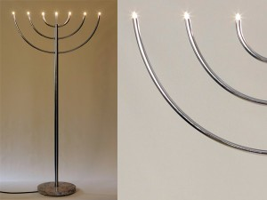 Lichtobjekt »Menora« KGK 50 - de greiff design