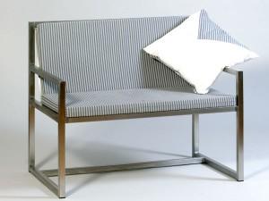 Gartenbank 2-sitzig - de greiff design