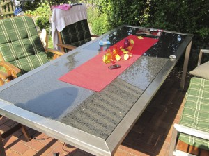 Tisch Hüby  - de greiff design