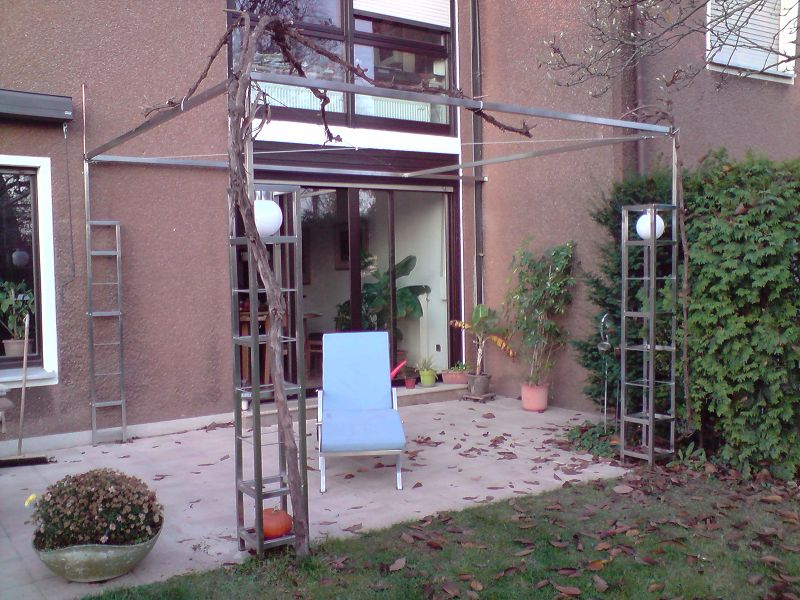 Terrasseninstallation